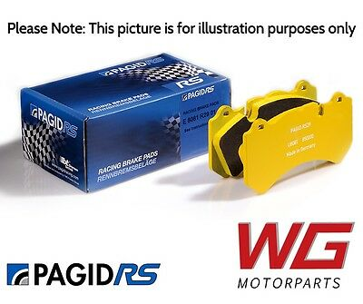Pagid RS29 Front Brake Pads for BMW M4 F82 (2014 Models E4931RS29