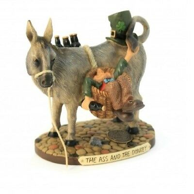Finnians Irish Figurine The Ass and the Donkey