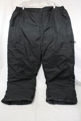 SWISS ALPS Rugged Wear Black SNOW/SKI/WINTER Pants Mens Size XXL-B22