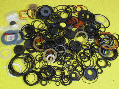 Large Lot Of Assorted O-Ring Gaskets & Rubber Seals