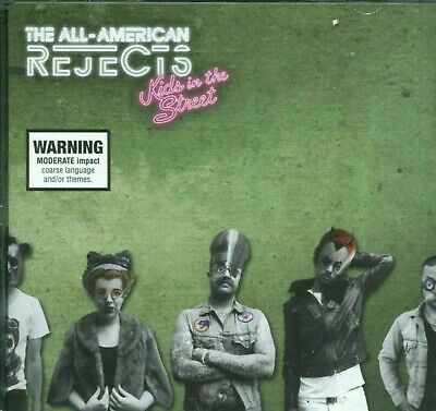 The All-American Rejects ‎– Kids In The Street CD Inc 5 BonusTracks DGC 2012 NEW