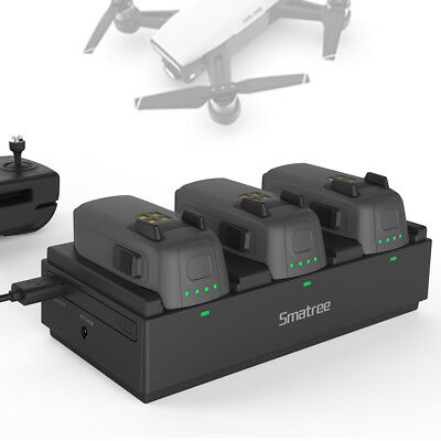 [DJI Spark Battery Base]Smatree Portable Charging Station for Spark-Quick Charge