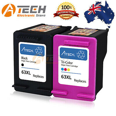Black Color Ink for HP 63XL Deskjet 1110 2130 2131 3630 3632 Officejet 3830 4650
