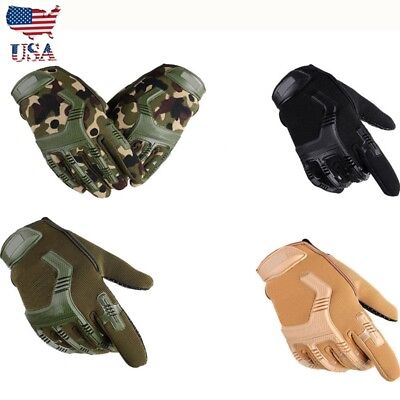 Outdoor Mechanix Wear Army Military Tactical Glove Outdoor Full Finger US Seller