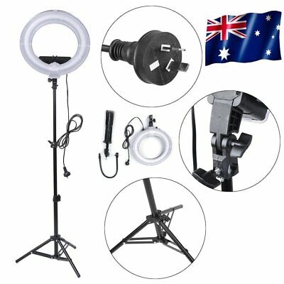 AU STOCK Dimmable Diva 12''5500K LED Ring Light For Video Photo W/ Light Stand K
