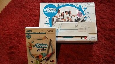WII U Draw Game Tablet