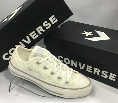CONVERSE CTAS OX White/mouse 561354C SNEAKERS Woman Macram Scarpe Casual Donna