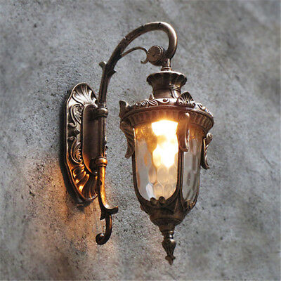 Outdoor Wall Lights Garden Vintage Wall Lamp Bar Lighting Antique Walll Sconce