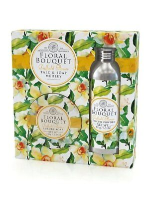 the Somerset Toiletry Company - floreale bouquet Daffodil FIORE talco & SAPONE