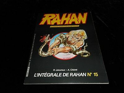 Rahan 15 Editions Vaillant avril 1985