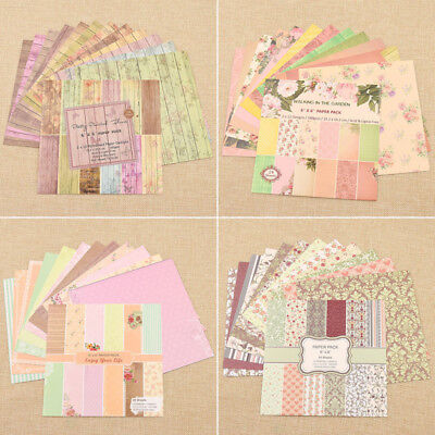 1 Set Vintage Paper Crafts for Scrapbooking Origami Creative DIY Card Making New