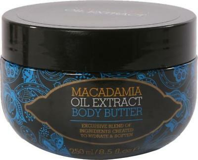 Macadamia Oil Body Butter 250ml