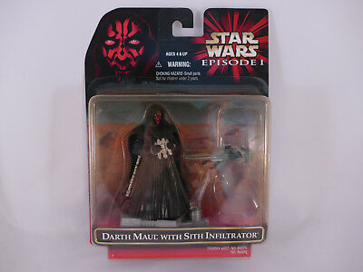 Star Wars Episode 1 Darth Maul With Sith Infiltrator Moc