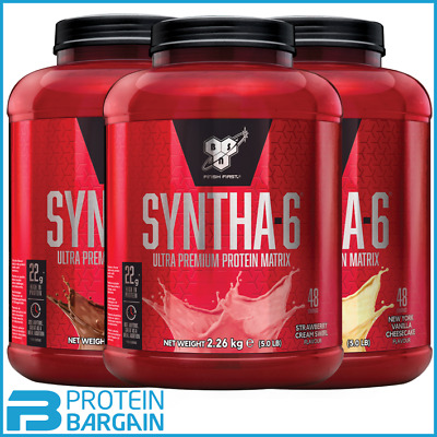 Bsn Syntha 6 Protein Powder - 2.27Kg / 5Lbs - Limited Edition Flavours-All Flav.