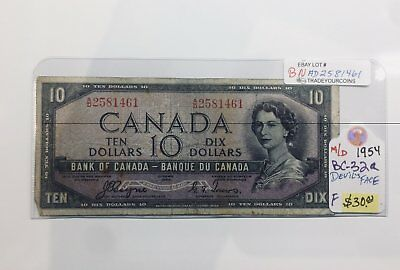 1954 Bank of canada 10 Dollars Devils Face Coyne & Towers, BNAD2581461