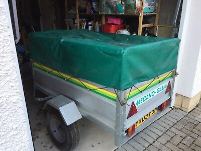 15mx1m Road Trailer Cabanon Eloise Tent And Sundry Camping Equipment