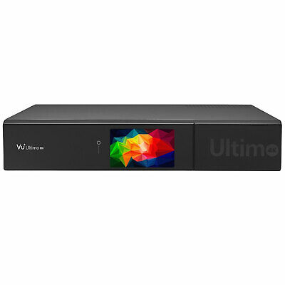 VU+ Ultimo UHD 4K Dualband Wifi HD USB 3.0 QUAD CORE 1x Kabel FBC Tuner Receiver