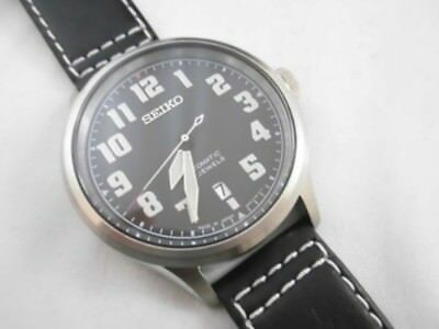 new styles c8064 5a103 SEIKO SPIRIT SCVE045 Limited Mechanical Automatic Black Mens Watch JAPAN  EMS New