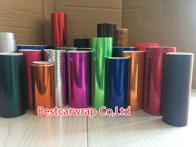 3D 5D 6D Carbon Fiber Matte Chrome Metallic Glossy Vinyl Wrap Tape Film Sticker