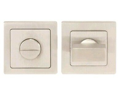 Carlisle Brass - SST1415 - Eurospec Stainless Steel Square Thumbturn and Release