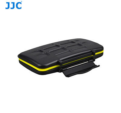 JJC MC-CF6 Water-Resistant Anti-shock Memory Card Case for fits 6 x CF Cards