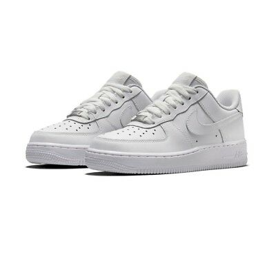 huge selection of 366f3 0c7bb Nike Sneakers Air Force 1 Gs 314192 117 Total White Bianco 36 36,5 37