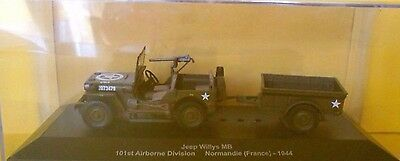 DIE CAST Jeep Willy MB 101 st Airborne Division 035 scala 143