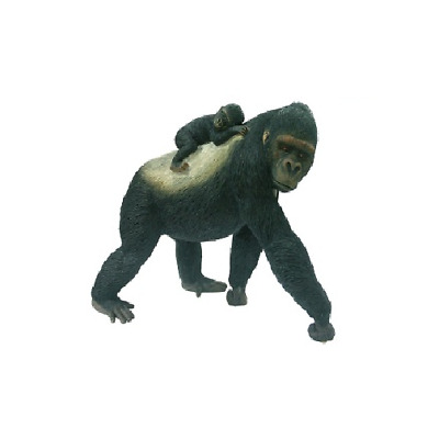 GORRILLA with Baby Figurine Country Artists CA03375 New - Natural World Statue