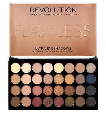 Makeup Revolution Eyeshadow Palette Ultra 32 Shade Flawless