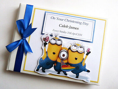 Personalised Boy/girl /first/1St Birthday Guest Book - Any Design