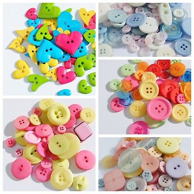 Mixed Buttons - 30g packs - Mixed Colours and Shapes -  Button Stash Booster!!