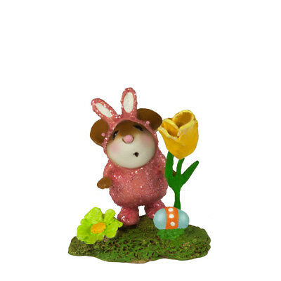 EASTER ROMPER GIRL by Wee Forest Folk, WFF# M-344b, LTD Easter Mouse 2018