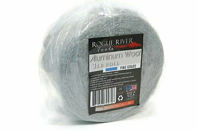 (1lb) Aluminum Wool Roll by Rogue River Tools - Fine Grade