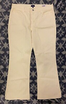 NYDJ Not Your Daughter's Jeans Lift Tuck Technology Sz 16 P Petite Yellow Pants