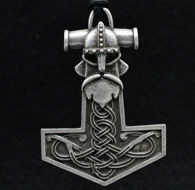 Antique silver Viking Gods of Ancient Rus handmade pendant Amulet necklace gift