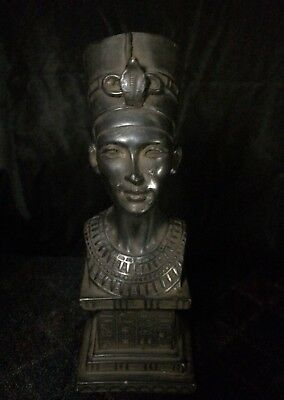 ANCIENT EGYPT ANTIQUE EGYPTIAN Statue QUEEN NEFERTARI Head Carved STONE God BC