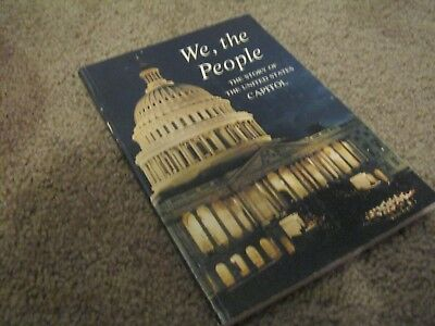 We, The People The Story of the United States Capitol 1963 Paperback Vintage