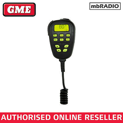 GME MC520B MICROPHONE TO SUIT TX3340/TX3420/TX3440 UHF {b}