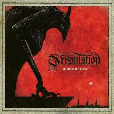 Parche imprimido /Iron on patch, Back patch, Espaldera / Tribulation- Down Below