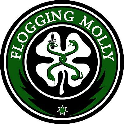 Parche imprimido /Iron on patch,Back patch,Espaldera/- Flogging Molly