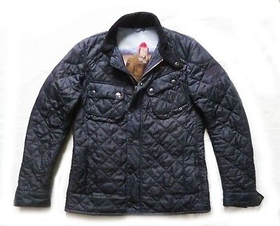 "Superb Barbour Steve Mcqueen "" 9665 "" Quilted Jacket  - Small - Vgc £215 New"