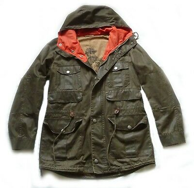 """Superb Barbour International """" Scafell """" Mountain Parka Jacket - Small - £265"""