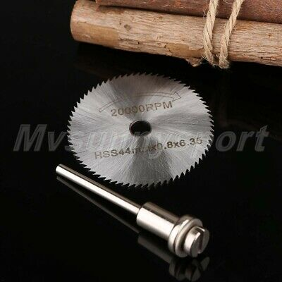44mm High Speed Steel Sawing Blade Cutting Cut Off Disc Disk Wheel Power Tool HQ