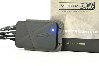 Morimoto XBT RGB Bluetooth Controller RGB RGBW Demon Eyes Halos Strips LED