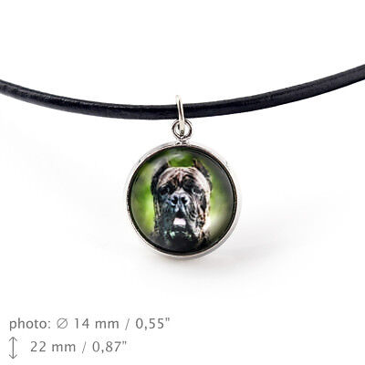 Cane Corso, pendant for people who love dogs. Photojewelry. Handmade. UK