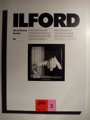 Ilford ISRC31M 30.5x40.6 - RC Deluxe - Fix grade 3 - 50 sheets