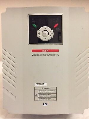 LS Inverter SV075iG5A-4 Variable Frequency Drive iG5A 10HP/7.5Kw 0.1-400Hz