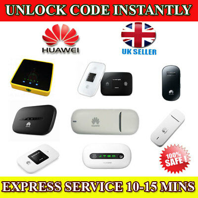 UNLOCK CODE FOR EE 4GEE Router HH70VB 4GEE WiFi / Mini EE70 & EE120