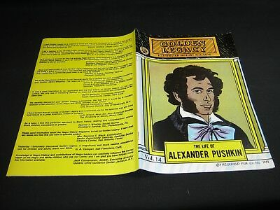 Golden Legacy Vol.14: The LIFE of ALEXANDER PUSHKIN (O) 1972 VF/NM (9.0)