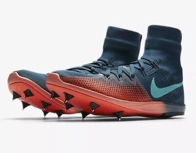 free shipping 39a4c f9e69 NEW Nike Zoom Victory 4 XC Racing Spike Space BlueCrimson 878804-438 Men
